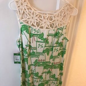 Lilly Pulitzer Mint Julep Design dress
